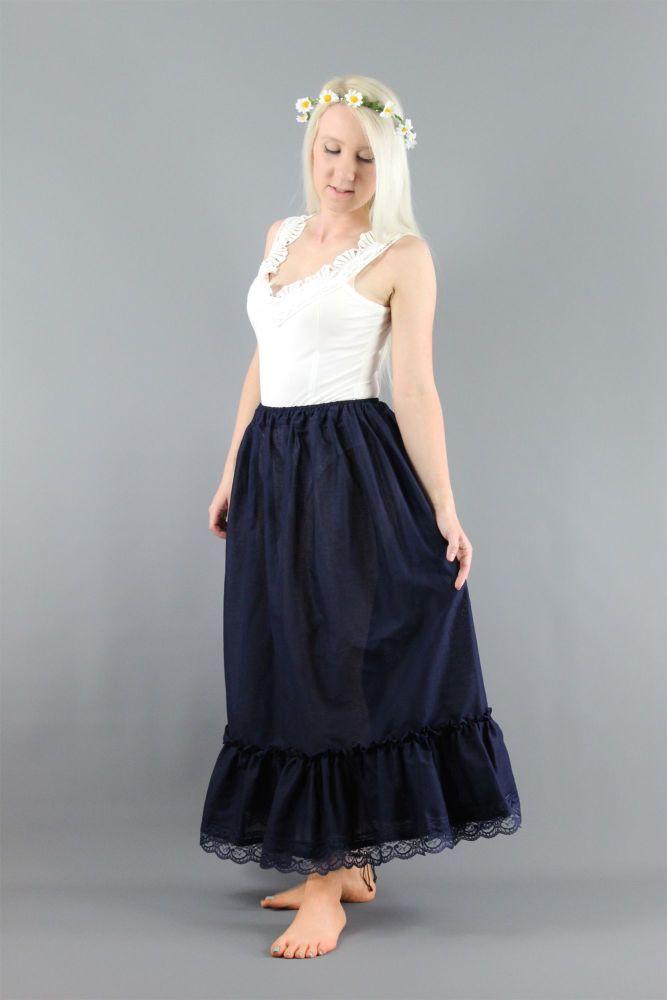 Navy-Cotton-Lawn-Lace-Trim-Petticoat