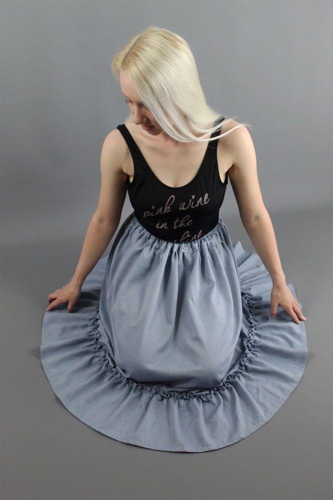 Denim-Chambray-Petticoat