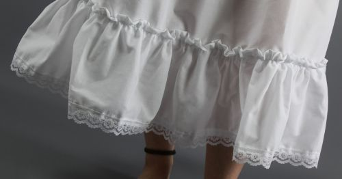 Petticoat-With-White-Lace-Trim