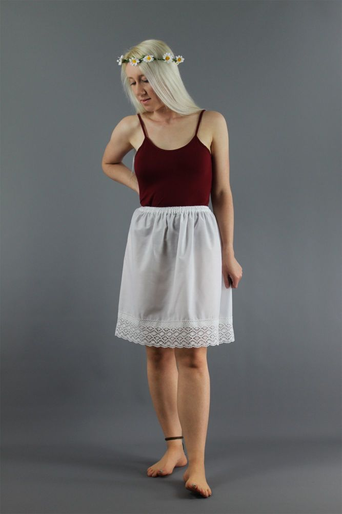 Simple-Cotton-Slip-With-Crochet-Lace