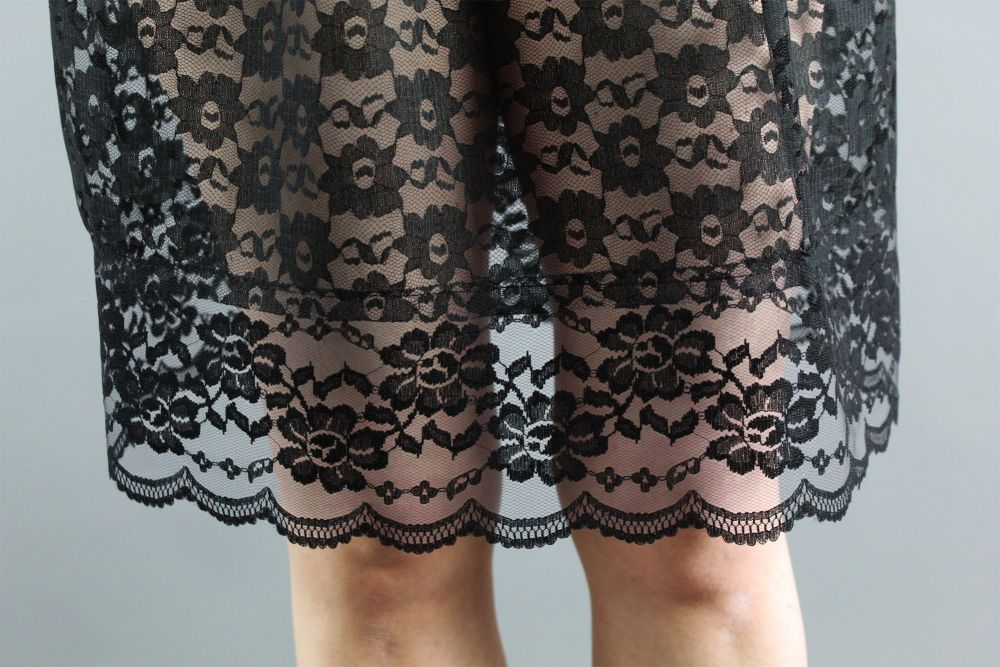 Black-Lace-Skirt