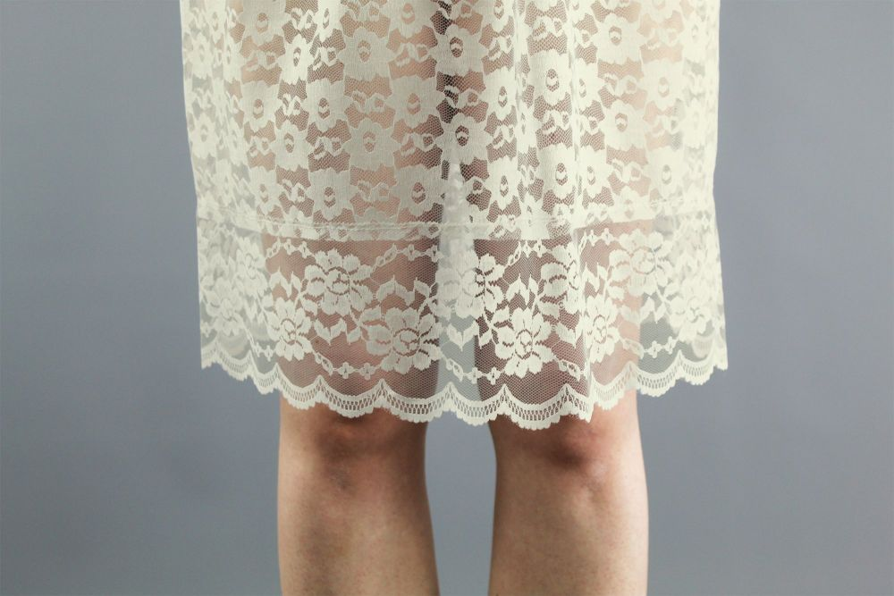 Ivory-Lace-Skirt