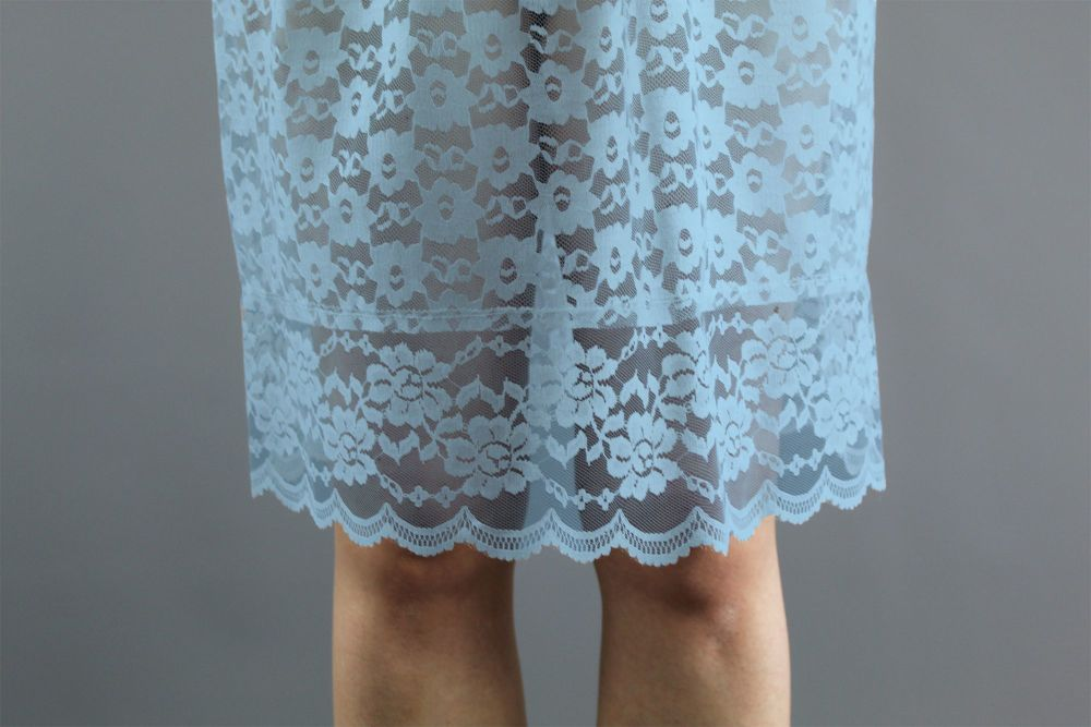 Baby-Blue-Lace-Skirt