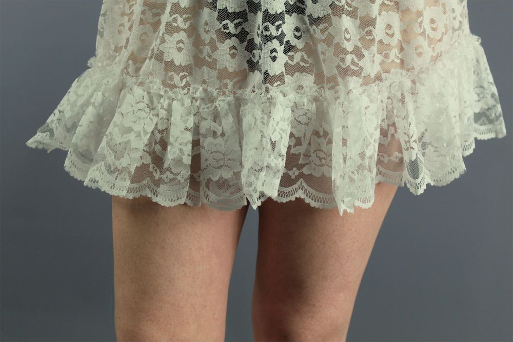Mini-Ivory-Lace-Skirt