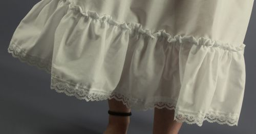 Ivory-Lace-Edged-Skirt