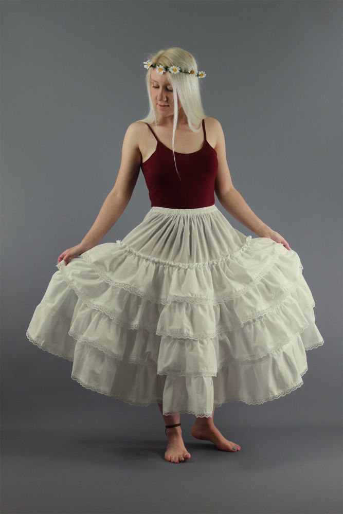 Ivory-Country-&-Western-Petticoat
