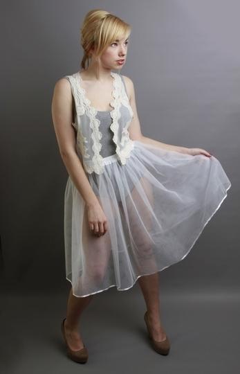 White Petticoat Underskirt
