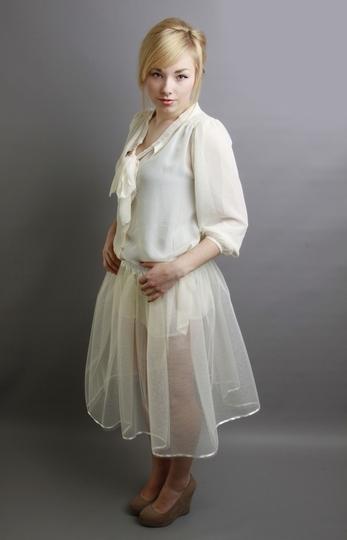 Ivory Petticoat Underskirt