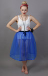 Royal Blue Net Petticoat