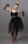 Black Faerie Net Skirt