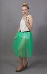 Jade Green Net Petticoat