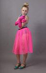 Flo Neon Pink Net Petticoat