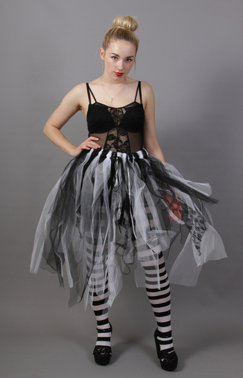 Ghost Bride Fairy Skirt