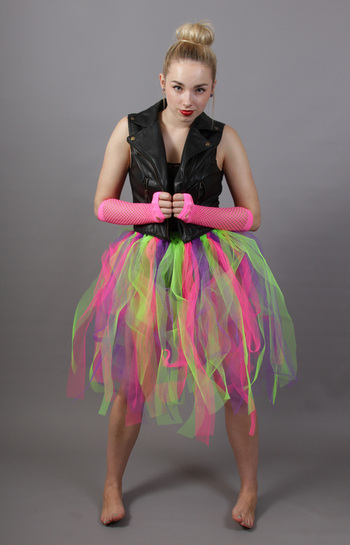 Multi Coloured Fairy Punk Skirt
