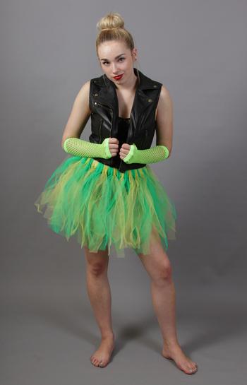 Green & Yellow Fairy Punk Tutu