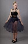 Navy Blue Net Petticoat