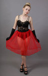 Red Net Petticoat