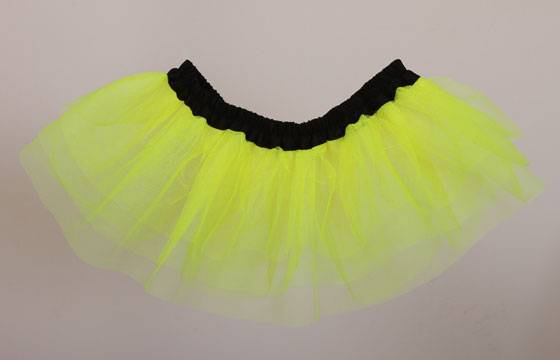 M98 Flo Neon Yellow Tutu