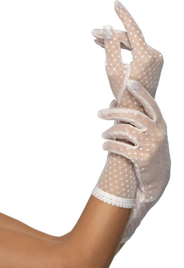 Ivory Lace Gloves