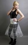 White Petticoat Tiered
