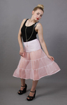Baby Pink Petticoat Tiered