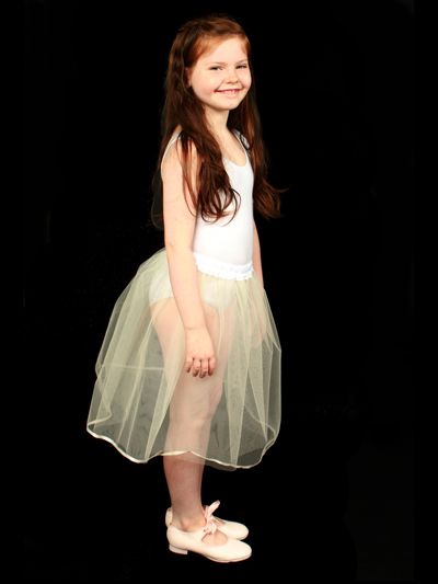 Childrens Ivory Petticoat