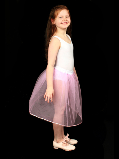 Childrens Pink Petticoat