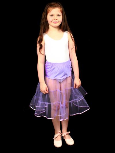 Child 1 Layered Petticoat Lilac