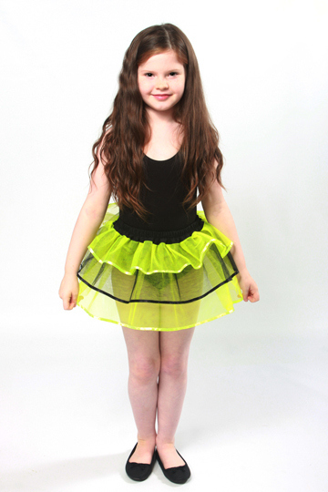 Childrens Bumble Bee Tutu Deluxe