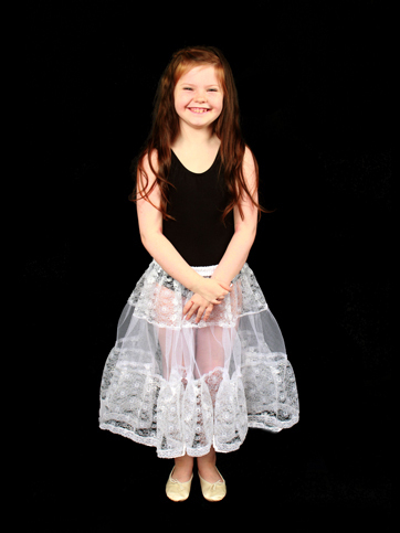 Childrens Lace Petticoat