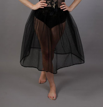Gothic Net Petticoat
