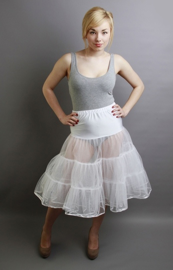 Bridesmaid Net Skirt