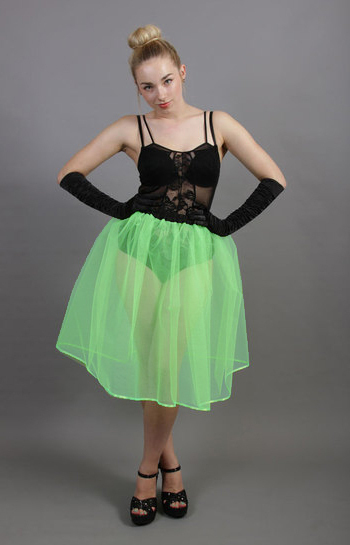 Mint Green Net Underskirt