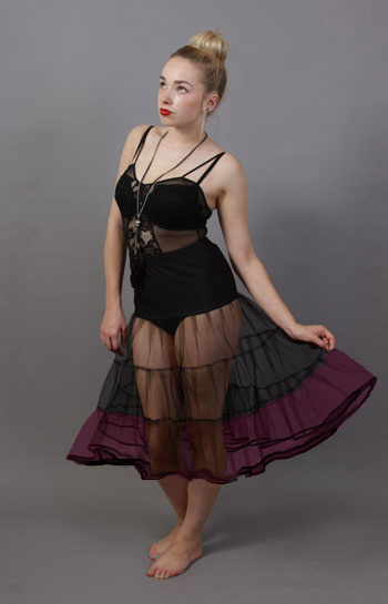 Two Tone Rockabilly Petticoat