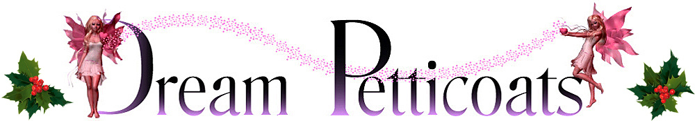 Dream Petticoats, site logo.
