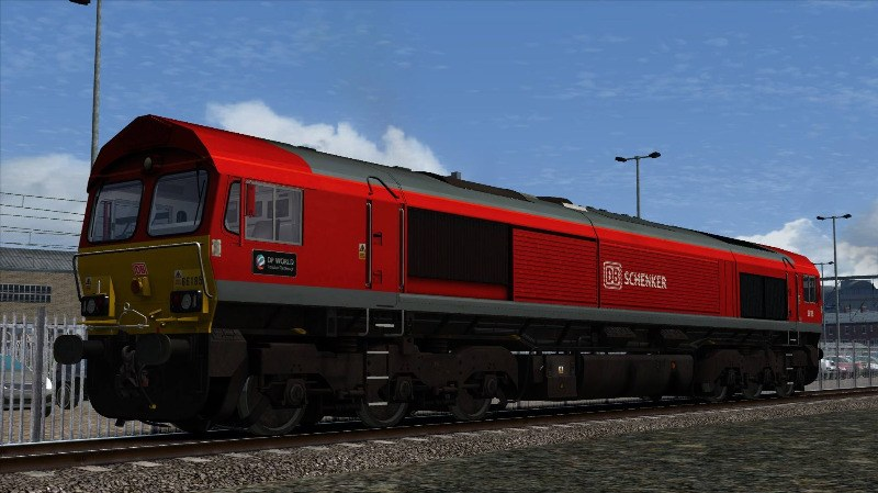 Image showing Class 66 'DB Schenker 66185' Repaint.