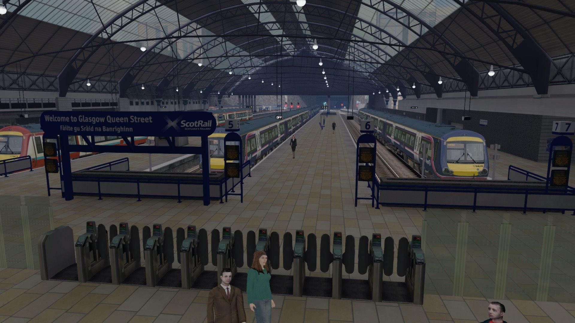 Train Simulator Edinburgh to Glasgow