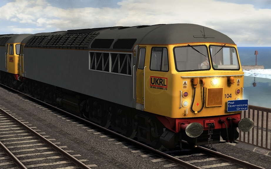 Image showing Class 56 'UK Rail Leasing'.