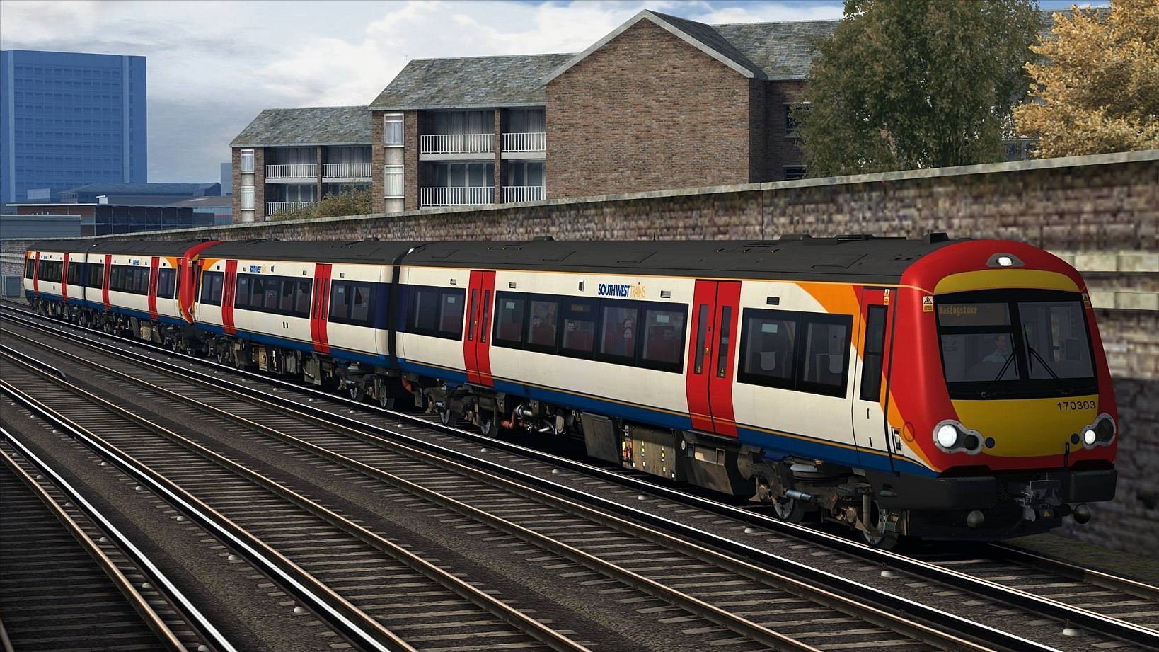Image showing screenshot of a Class 170 Repaint