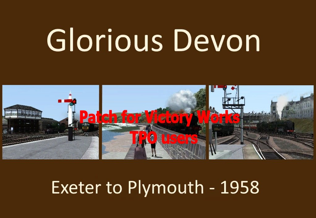glorious devon - exeter to plymouth 1958 tpo patch