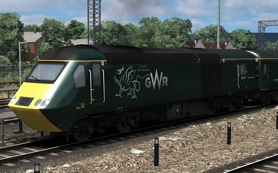 Image showing GWR HST 'The Welshman'.