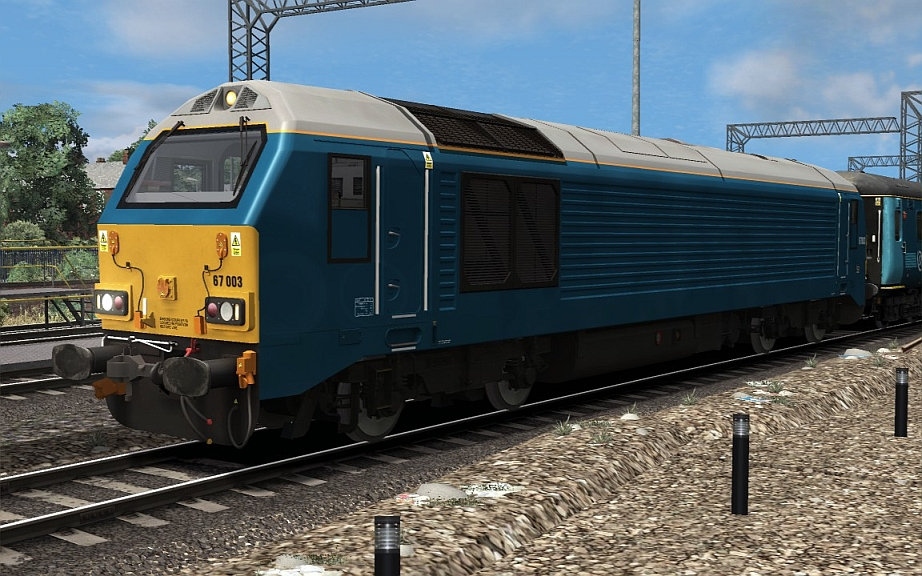 Image showing class 67 'Arriva Trains Wales'