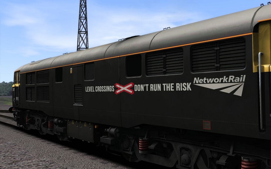 Image showing Class 31/1 'Network Rail Black 31107'.