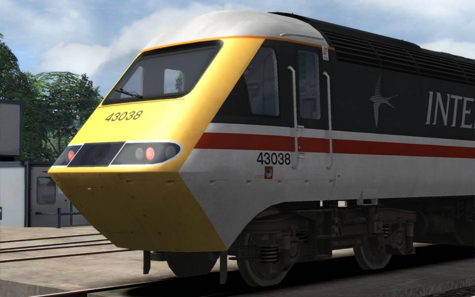 Image showing Class 43 InterCity 'Swallow' 43038.