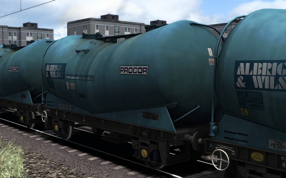 Image showing screenshot of a free repaint of rolling stock that is included with the Settle to Carlisle Route Add-on DLC