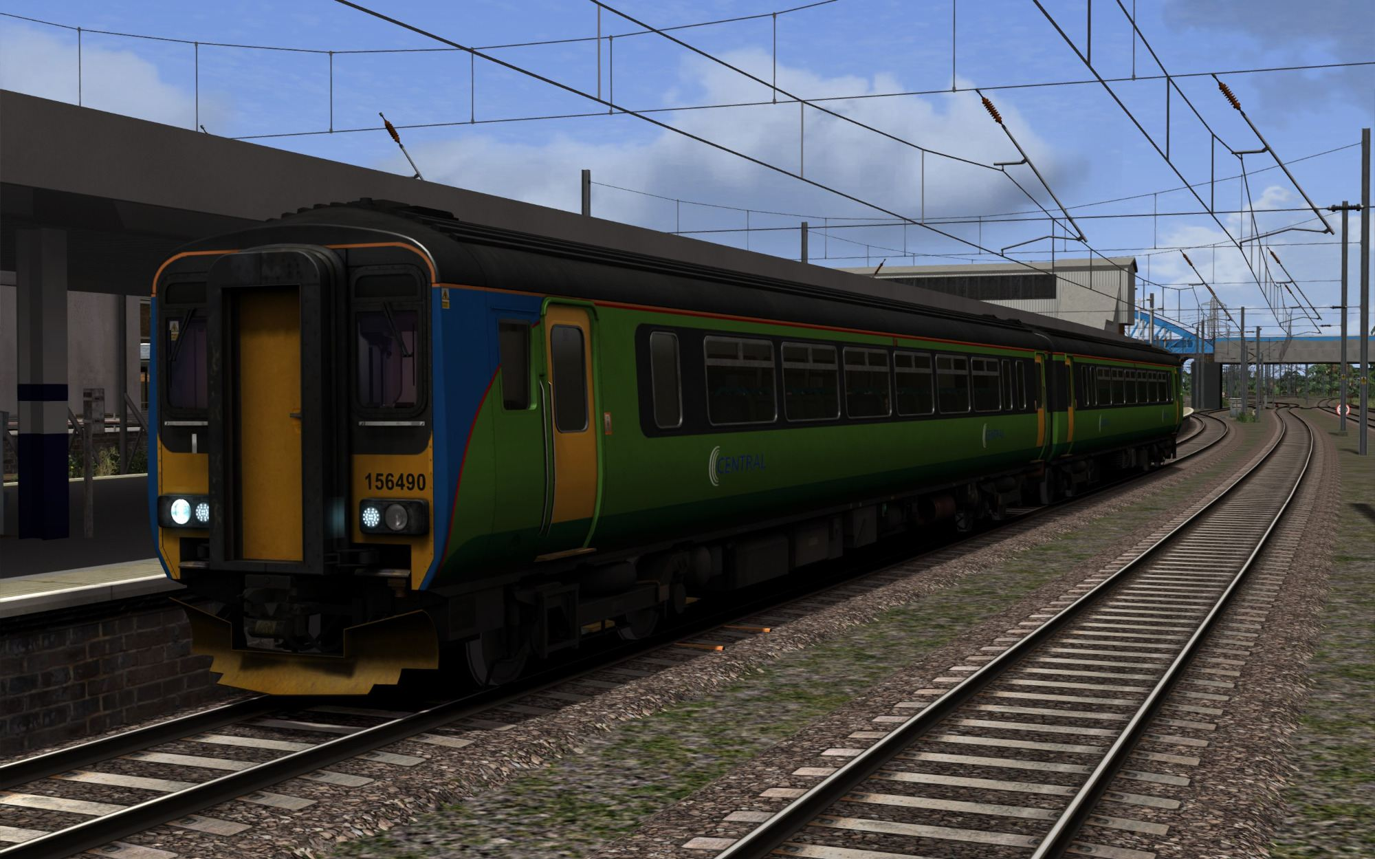 Image showing screenshot of the free Class 156 branding pack from DPSimulation