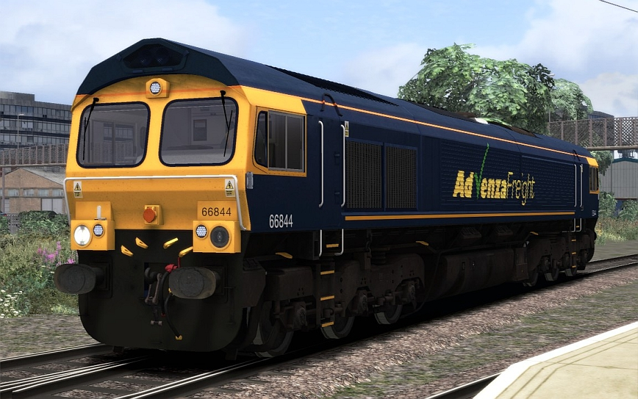 Image showing Class 66 'Advenza Freight'.