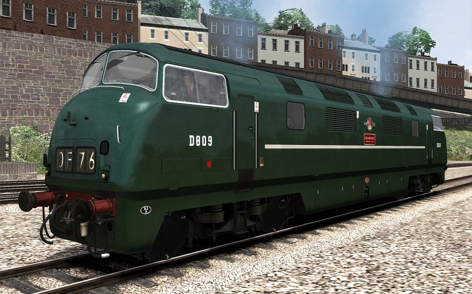 Image showing Class 42 Full Green.