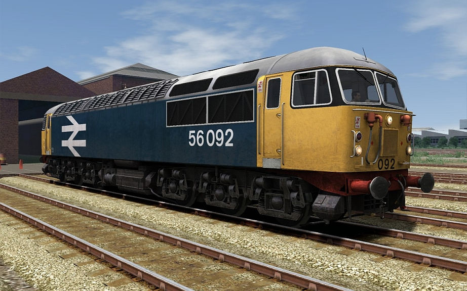 Image showing Class 56 BR Large Logo (Tinsley).