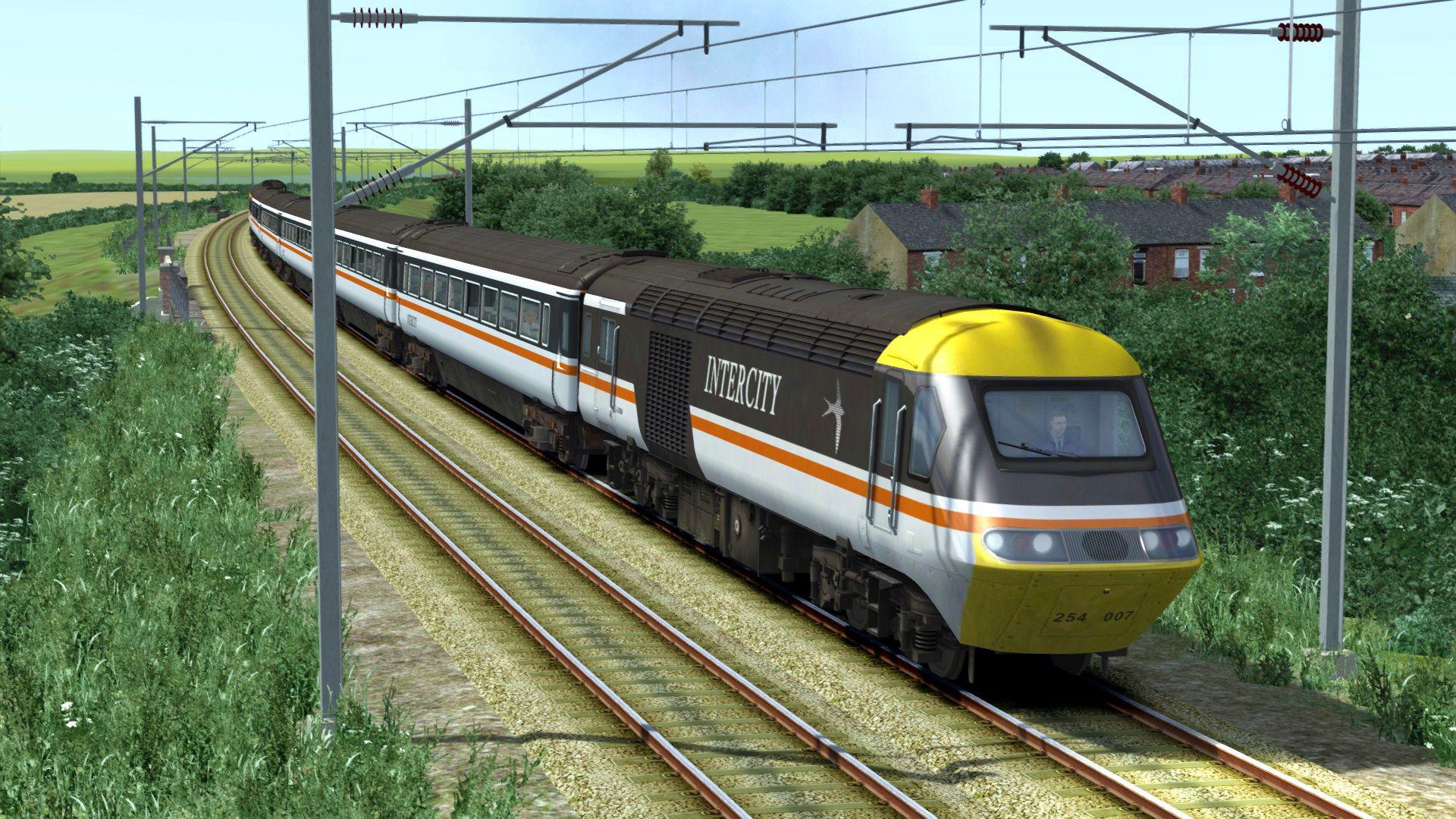 Train Simulator ECML York to Peterborough